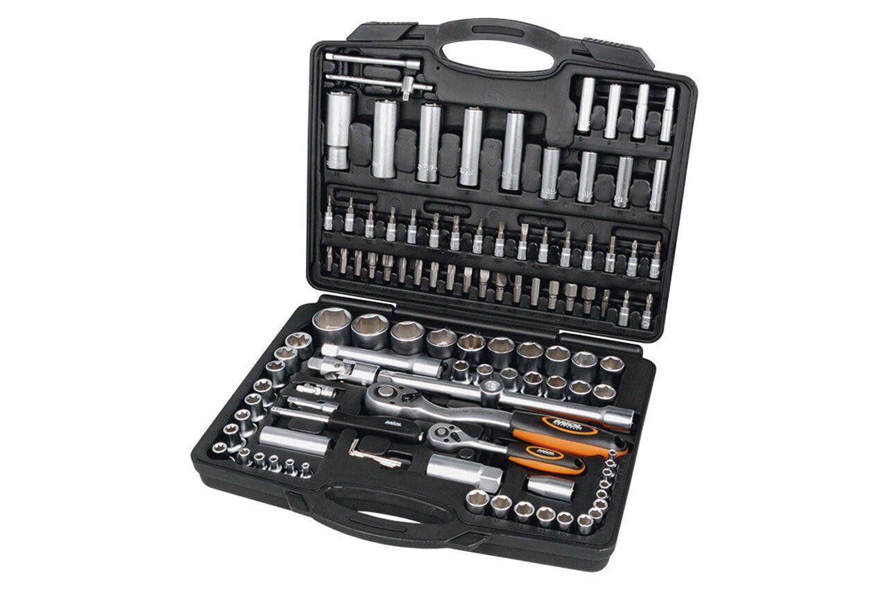 Набор инструментов 110 ед. 1/4 х 1/2 Miol | 58-100