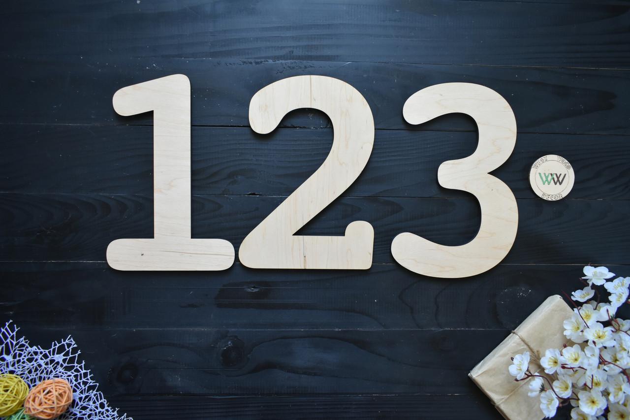 Декоративные цифры, цифры на стену из дерева, надписи, буквы и имена из дерева. Деревянные буквы (любые)