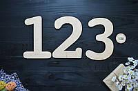 Декоративні цифри, цифри на стіну з дерева, написи, літери та імена з дерева. Дерев'яні літери (будь-які)