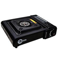 Плита газова портативна Intertool - 342 x 275 x 113 с адаптером | GS-0001