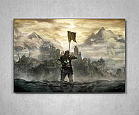 Картина с героем игры Дарк Соулс Dark Souls 60х40, фото 1
