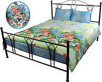 Комплект постельного белья Руно двуспальный сатин Summer flowers арт.655.137Summer flowers