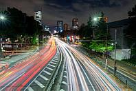 Фотошпалери Дорога в мегаполісі №22822