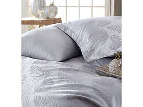 Комплект постільної білизни Clasy Satin Jacquard Cotton сатин-жаккард Євро Grida_V1, фото 2