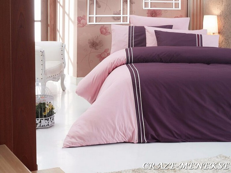 Комплект постельного белья First Choice Ranforce Deluxe Евро ранфорс арт.Craze menekse