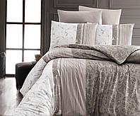 Комплект постельного белья First Choice Ranforce Евро ранфорс арт.Peitra Kahve