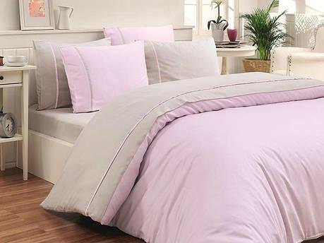 Комплект постельного белья First Choice Satin Cotton Евро сатин арт.Viovet Tas, фото 2