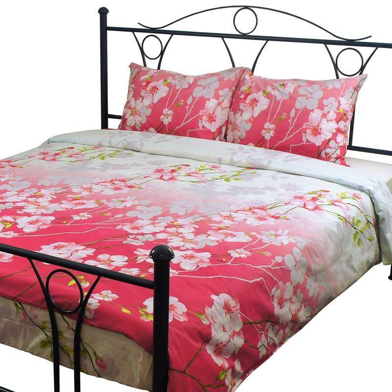 Комплект постельного белья Руно Евро бязь арт.845.114БК_4781 Сакура