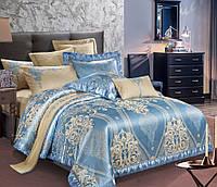 Комплект постельного белья Руно Евро сатин жаккард арт.845.137АЖ_SJ-013(А+В)
