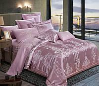Комплект постельного белья Руно Евро сатин жаккард арт.845.137АЖ_SJ-020(А+В)