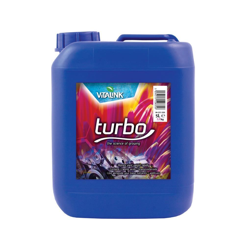 Биостимулятор роста и цветения растений VitaLink Turbo 5л