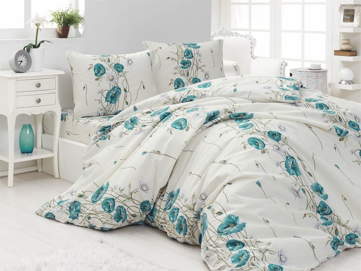 Комплект постельного белья Arya полуторный кретон Alben арт.TR1004956