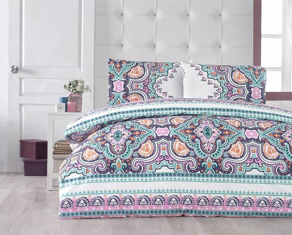 Комплект постельного белья Arya полуторный ранфорс Kobe арт.TR1003827, фото 2