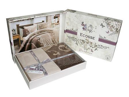 Комплект постільної білизни Ecosse Ranforce ранфорс полуторний Belmount, фото 2