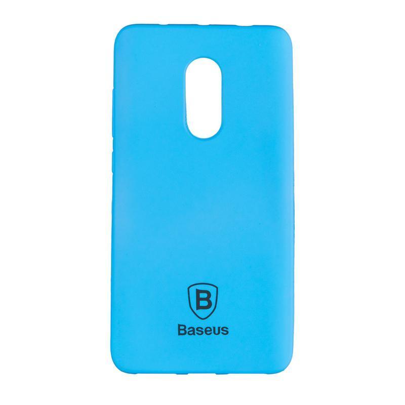 Чехол силиконовый Baseus Soft Colorit для Xiaomi Redmi Note 4 Blue