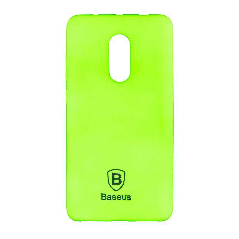 Чехол силиконовый Baseus Soft Colorit для Xiaomi Redmi Note 4 Green