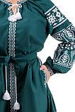 Платье - вышиванка женское длинное размеры S-XL, фото 3
