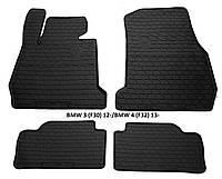 Резиновые автомобильные коврики в салон BMW 3 (F30) 2012 бмв ф30 ф35 ф34 Stingray