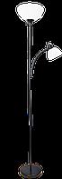 Настол.лампа-торшер підлог.бра SERGIO чорна H-180см Е27+підсвітка Е14,шнур з вим.бра(4/ящ) TM LUMANO