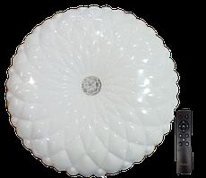 Світ-ик LED з пульт.кер.3 реж.осв.3000-4000-6500K 80W BERGAMO круг (5/ящ)ТМ LUMANO (12 міс.ГАР)