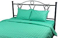 Комплект постельного белья Руно полуторный мятный бязь арт.1.114Mint