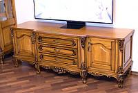 Деревянная тумба ТВ Версаль