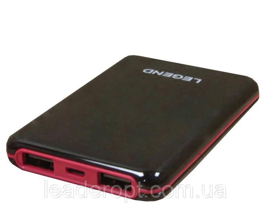 [ОПТ] Універсальний зовнішній акумулятор Power Bank Legend LD-4009 30000 mAh з ліхтариком