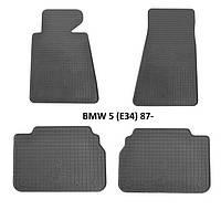 Резиновые автомобильные коврики в салон BMW 5 (E34) 1987 бмв е34 Stingray