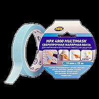 HPX 4900 MULTIMASK - сверхпрочная малярная лента с УФ защитой - 19мм х 25м