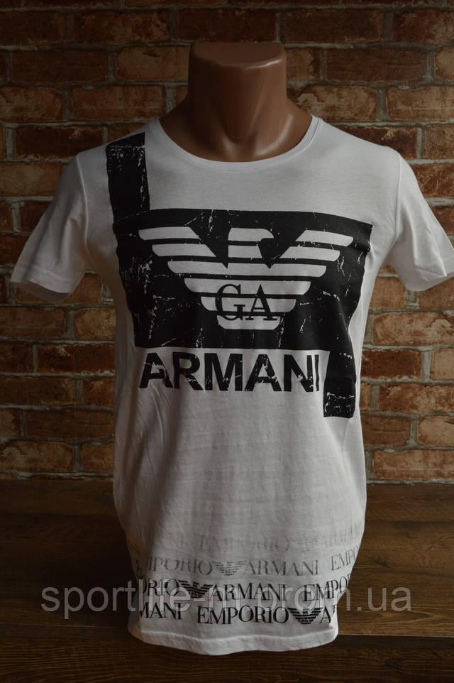 армани мужская футболка