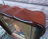 Икона писаная Господь Вседержитель в деревянном киоте., фото 4
