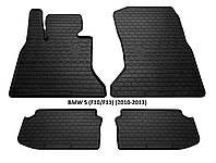 Резиновые автомобильные коврики в салон BMW 5 (F10/F11) 2010 бмв е60 е61 Stingray