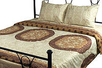 Комплект постельного белья Руно полуторный сатин арт.1.137К_3589 Front beige