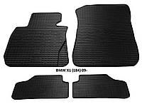 Резиновые автомобильные коврики в салон BMW X1 (E84) 2009 бмв х1 е84 Stingray