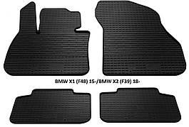 Коврики в авто, автоковрики BMW X1 (F48) 2015 резиновые Stingray