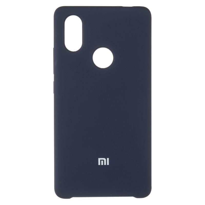 Чехол Silicone Case оригинальный для Xiaomi Mi8 SE Dark Blue (20)
