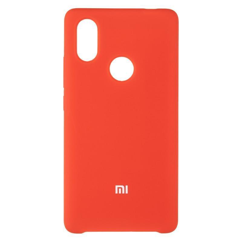 Чехол Silicone Case оригинальный для Xiaomi Mi8 SE Red (14)