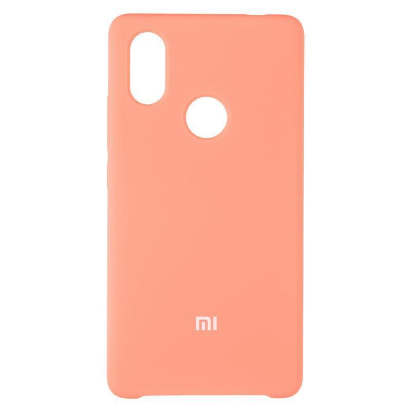 Чехол Silicone Case оригинальный для Xiaomi Mi8 SE Pink (29)