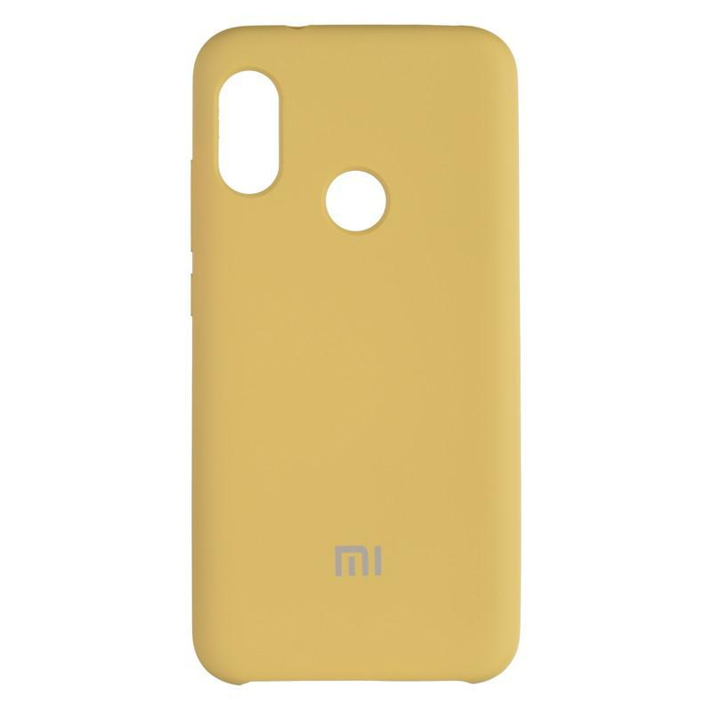 Чехол Silicone Case оригинальный для Xiaomi Mi8 SE Gold (28)
