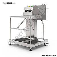 Станция гигиены для дезинфекции рук и подошв с бесконтактным умывальником, фото 1