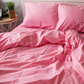 Пододеяльник Хлопковые традиции двуспальный 175*215 см поплин розовый арт.PF07, фото 2