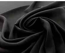 Трикотаж віскоза однотонний Польща колір чорний