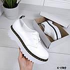 Женские белые туфли, натуральная кожа 36 37 39 ПОСЛЕДНИЕ РАЗМЕРЫ, фото 2