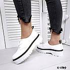 Женские белые туфли, натуральная кожа 36 37 39 ПОСЛЕДНИЕ РАЗМЕРЫ, фото 4