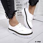 Женские белые туфли, натуральная кожа 36 37 39 ПОСЛЕДНИЕ РАЗМЕРЫ, фото 6