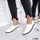 Женские белые туфли, натуральная кожа 36 37 39 ПОСЛЕДНИЕ РАЗМЕРЫ, фото 7