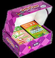 Набор настольных развивающих игр The Brainy Band Игротека 9+ детский рт.УКР023