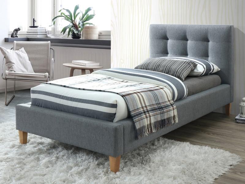 Кровать TEXAS 90 серый (Signal)