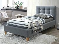 Кровать TEXAS 90 серый (Signal), фото 1