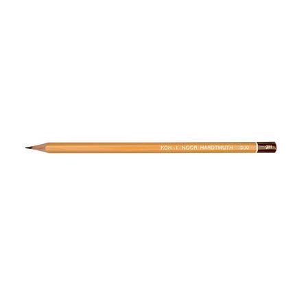 """Олівець чорнографітний """"KIN"""" 1500 9H технічний, фото 2"""